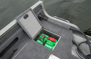1650 Super Hawk Aft Battery Storage