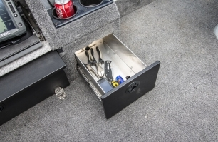 Pro Tiller Command Console Storage Drawer