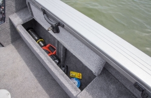 Pro Tiller Port Storage