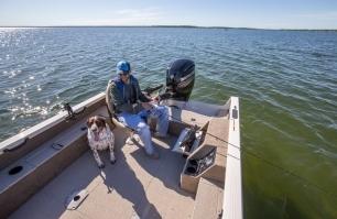 1750 Pro Tiller Fishing