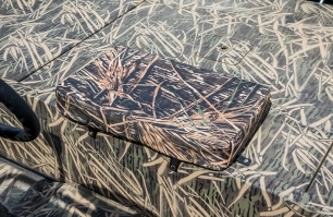 Cushion on Stern Deck
