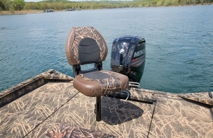 Angler Seat on Stern Deck