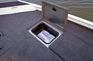 Bow Storage with Removable Trays (Port and Starboard)