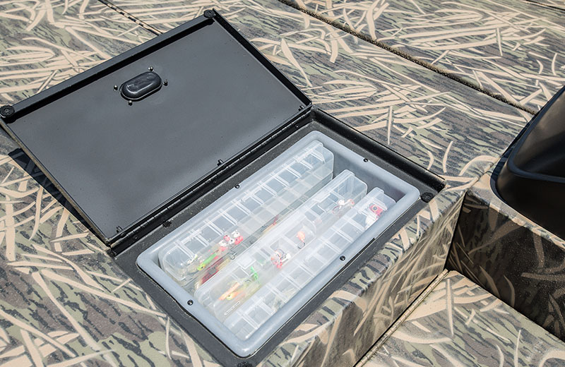Storage Compartment with Tackle Trays