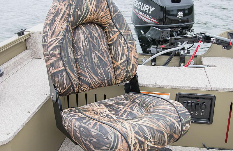 Camo Deluxe Seat