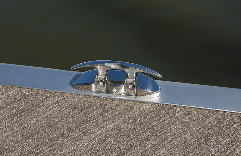 Stainless Steel Flip Up Cleats - Up