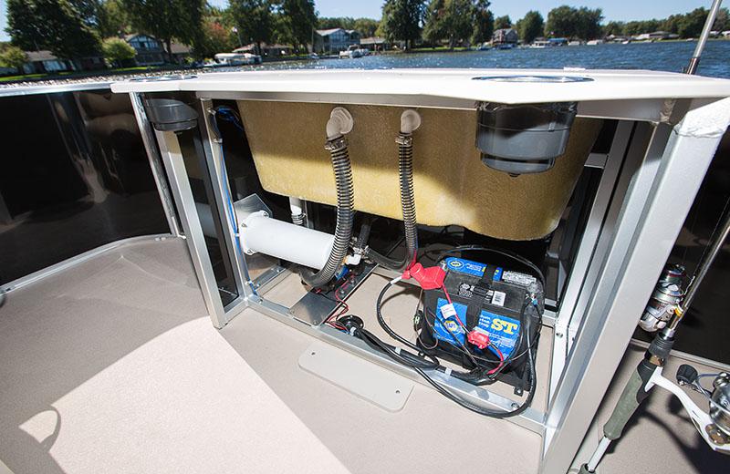 Fishing Station Battery Storage