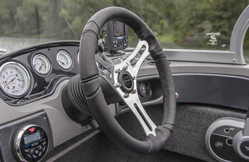 Upgraded Steering Wheel