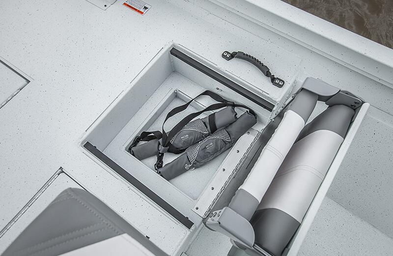 Jump Seat Storage