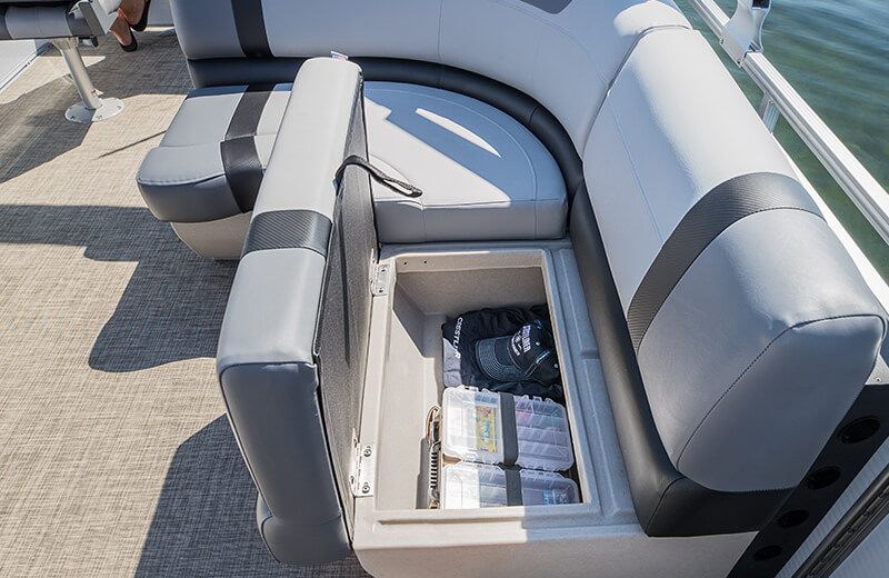 Storage Below L Lounge Chair