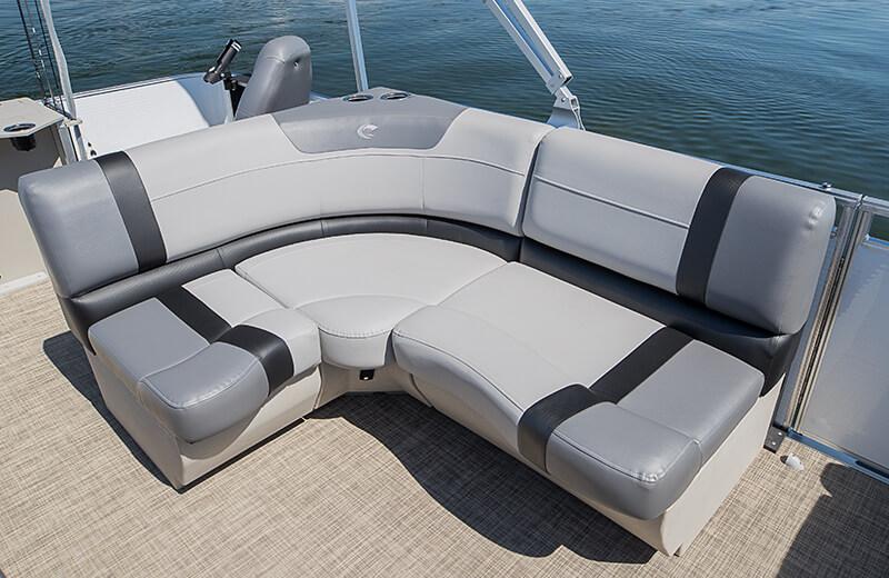 L Lounge Chair (Gray)