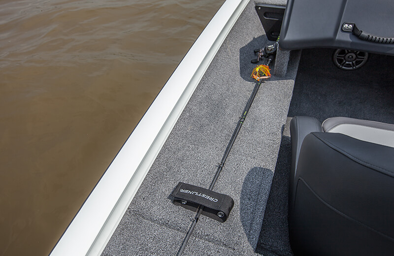Port Rod Ramp with Topside Rod Straps
