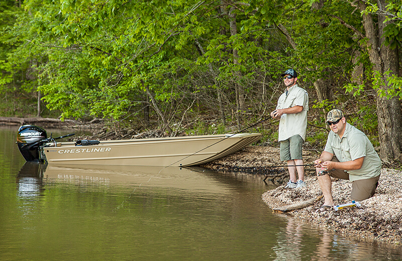 1760 Retriever Jon Deluxe Fishing