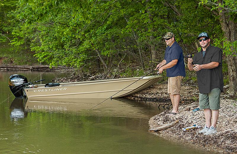 1660 Retriever Jon Deluxe Fishing