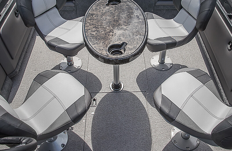 Removable Cockpit Table