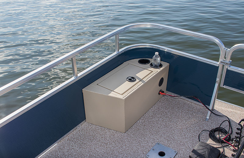Bow Port Trolling Motor Storage  (FC only)