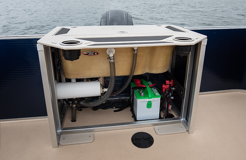 Fishing Station Battery Storage