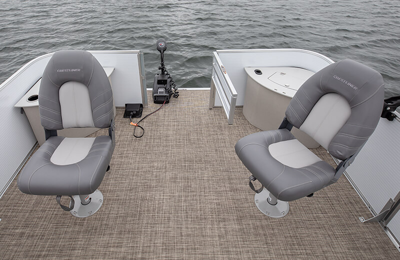 Deluxe Fishing Seat (Gray)