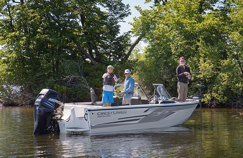Sportfish 2150 Fishing