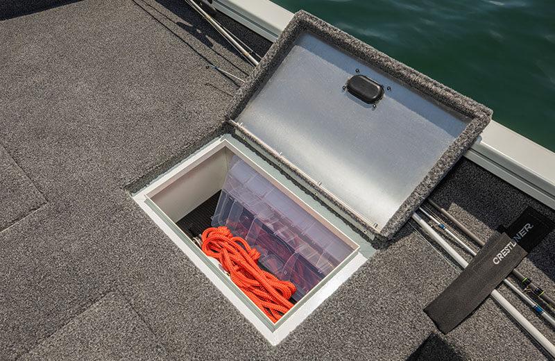 Port Stern Platform Storage