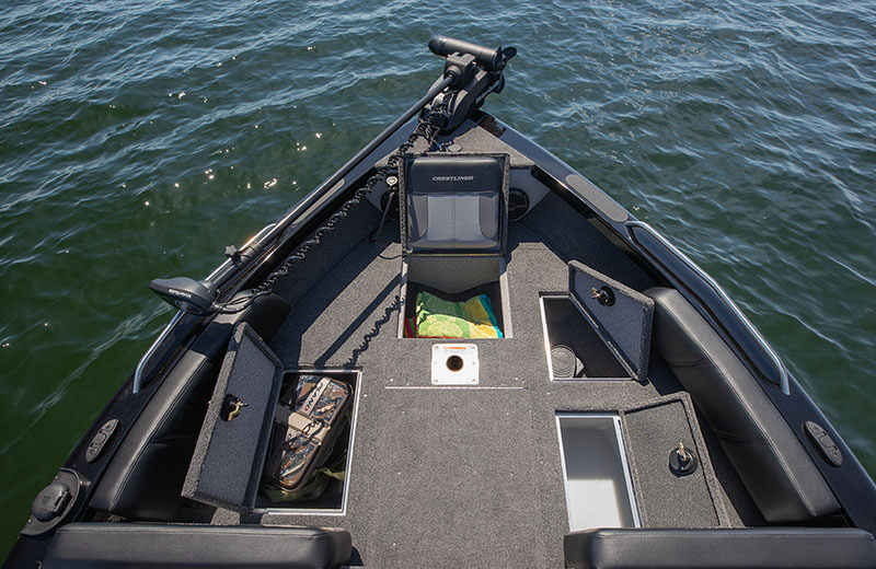 Bow Compartments Open