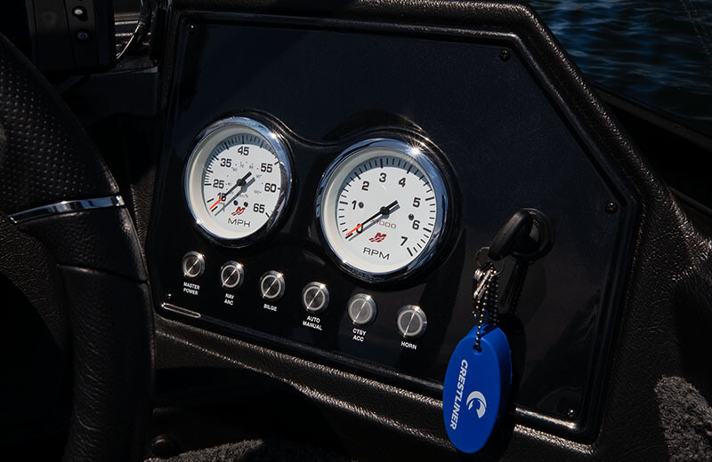 Gauges & Lit Push Buttons
