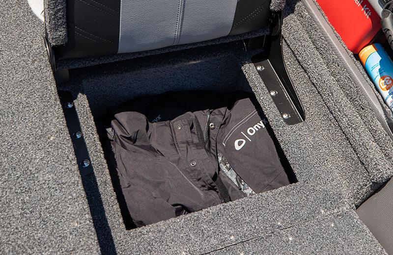 Under Jump Seat Storage