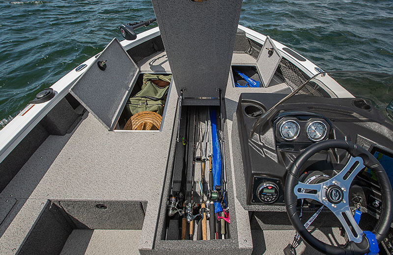Bow Storage Open (Side Console)