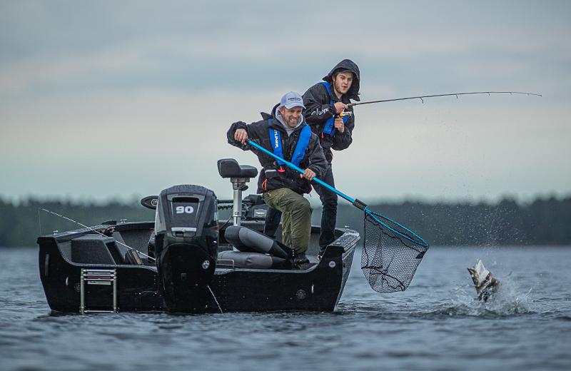 1850 Pro Tiller Fishing