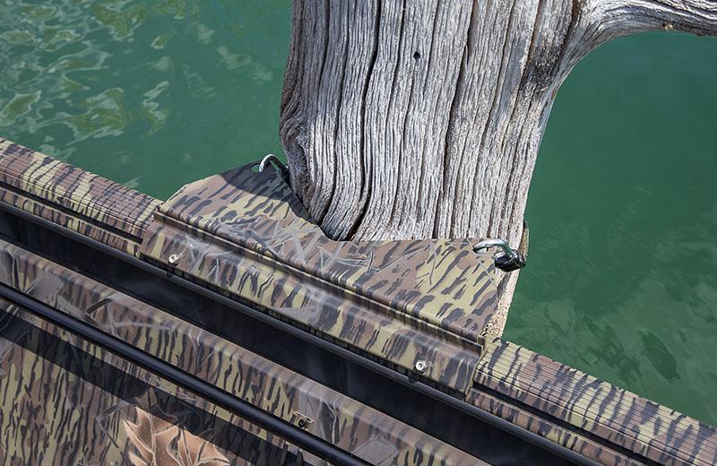 Lock Track Tree Holder