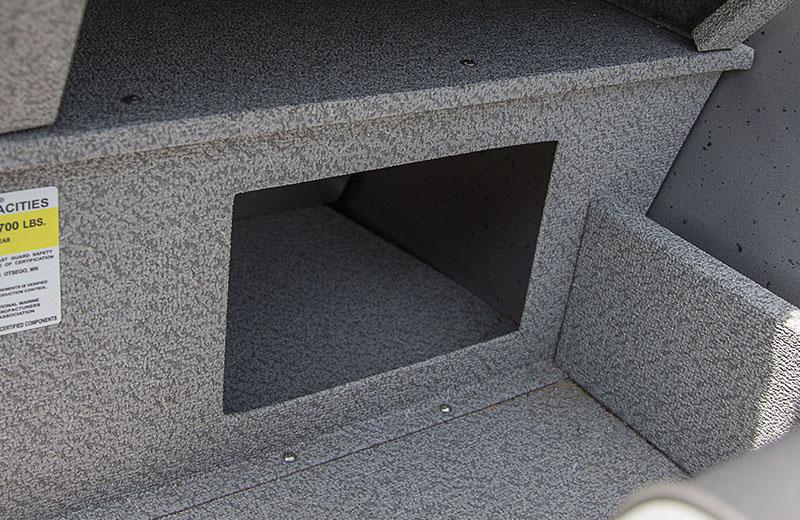 Under Platform Storage