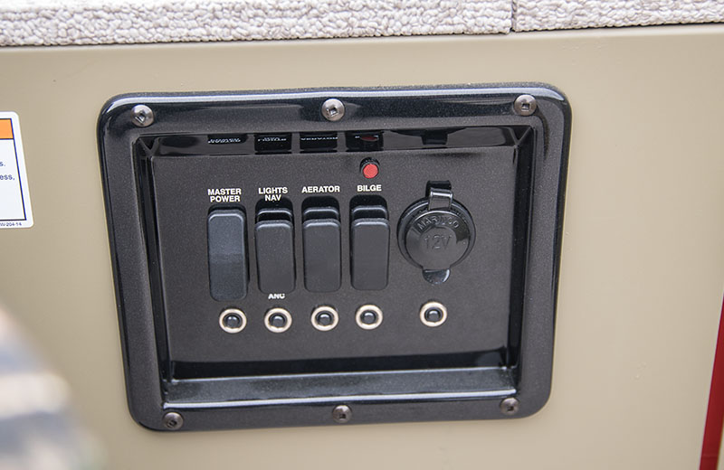 Tiller Switch Panel