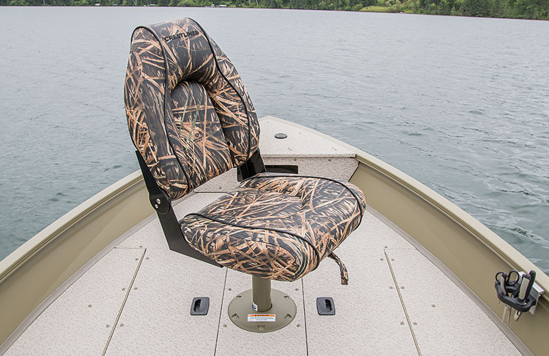 Camo Deluxe Seat in Bow