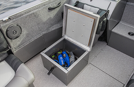 Helm & Passenger Seat Storage Boxes