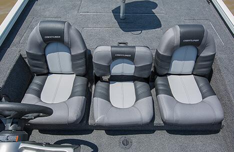 Center Seat with Under Seat Storage