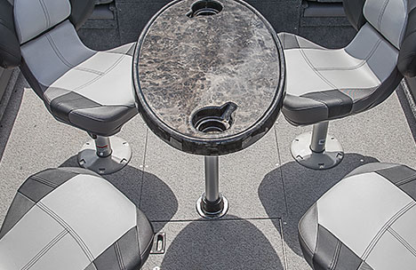 Removeable Cockpit Table
