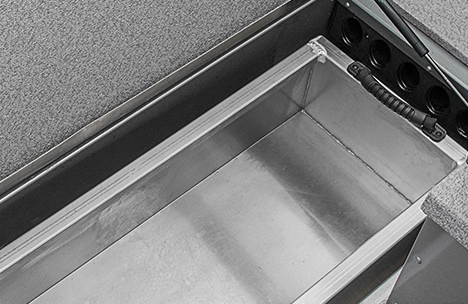 In-Floor Fish Box