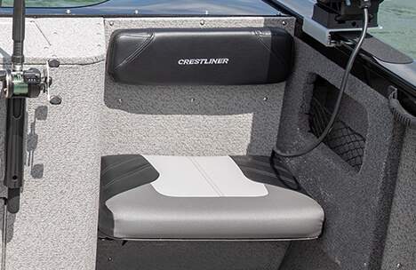 Removeable Stern Seats with Fixed Backrest/Thighboards