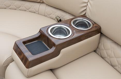 Portable Woodgrain Cupholder