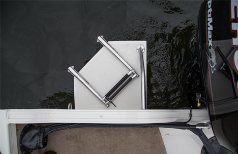 Swim Platform with Ladder Option
