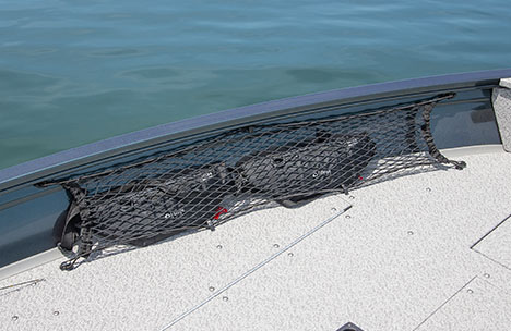 Bow Cargo Netting