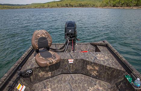 Angler Seat on Track
