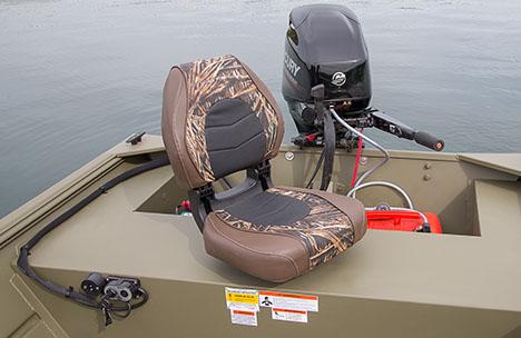 Angler Seat