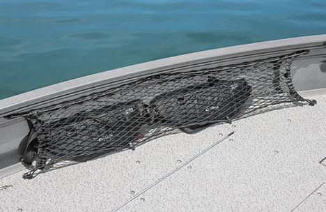 Bow Cargo Netting