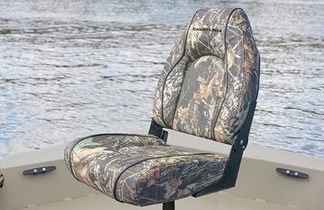 Deluxe Seat with Pedestal on Bow